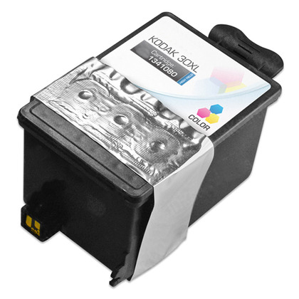 Kodak 30XL New Compatible Color Ink Cartridge (1341080) - High Yield