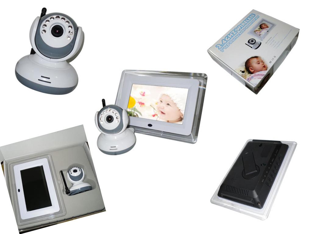 "7"" LCD Digital Baby Monitor"