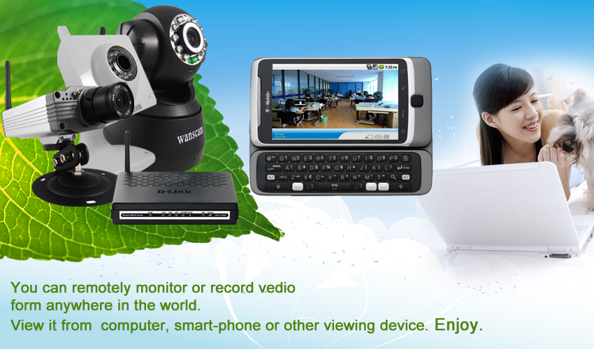 IP Camera with night vision