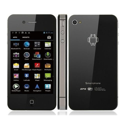 CP-W007-Android4.0, 3.5inch Capacitive inch Touch Screen Cell Phone,TV, WIFI, GPS, Dual SIM ,3G,bluetooth,0.3MP+5.0MP Dual camera.