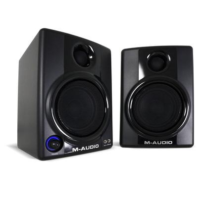 M-AUDIO Studiophile AV30 Compact Desktop 2.0 Speaker System 30W RMS Black