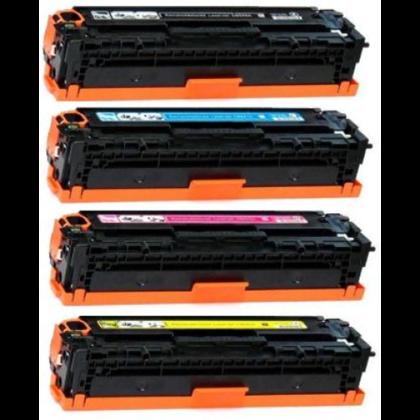 HP 128A New Compatible Combo Set Toner Cartridge(Black/Cyan/Magenta/Yellow)