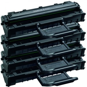 Samsung ML-2010D3 New Compatible Black Toner Cartridge (High Yield) 4/Pack