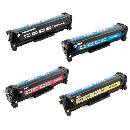 HP-CC530A-CC531A-CC532A-CC533A-New-Compatible-Toner-Cartridge-Combo-Set