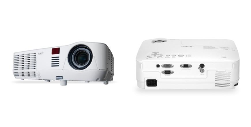 NEC 2600 lumen Multimedia High-Brightness Mobile Projector