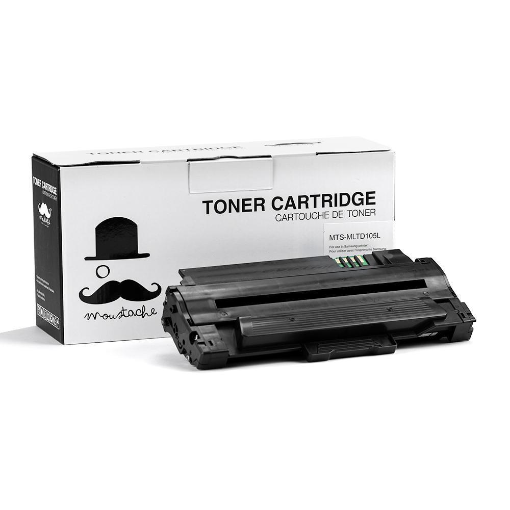 Samsung MLT-D105L Compatible Black Toner Cartridge - Moustache®