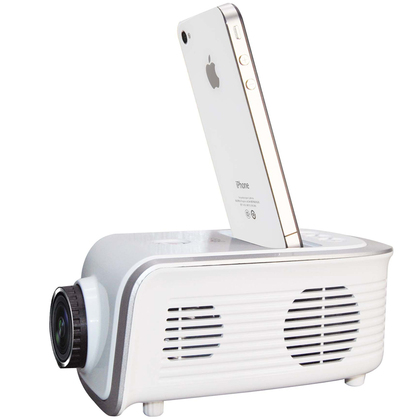 20 off for the pr hx7609 portable projector for iphone for Ipod projector