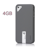 iPhone 4 4S Snap Case Hybrid Series with 4GB USB Flash Disk