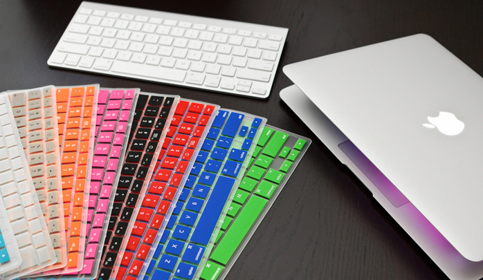 Apple Silicone-Keyboard-Covers-Colors