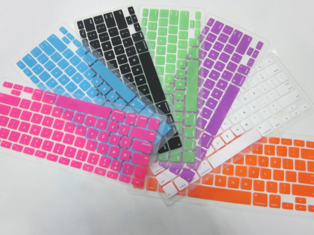 Silicone-Keyboard-Cover for macbook