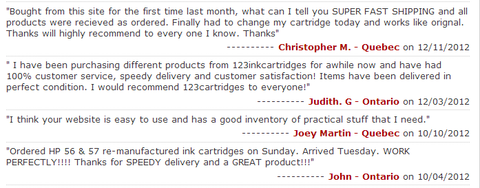 123inkcartridges review 3