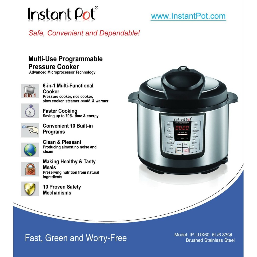 IP-LUX60 instant pot