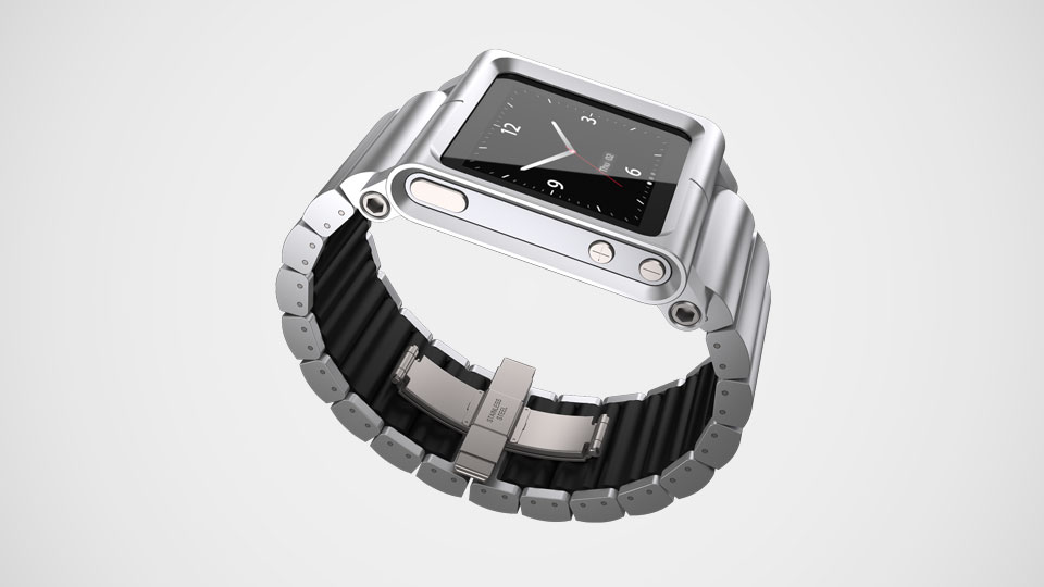 Lunatik® iPod Nano 6th Watch Silver