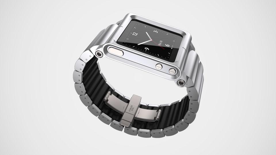 Lunatik® iPod Nano 6th Watch Silver