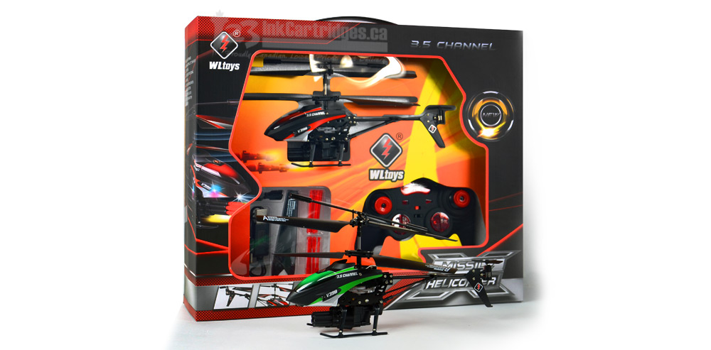 RC Helicopter Comes with Missiles Shootting