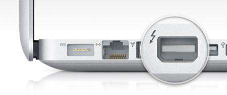 macbook thunderbolt port