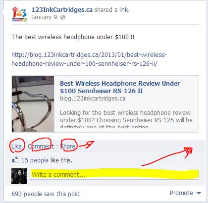 123inkcartridges facebook post