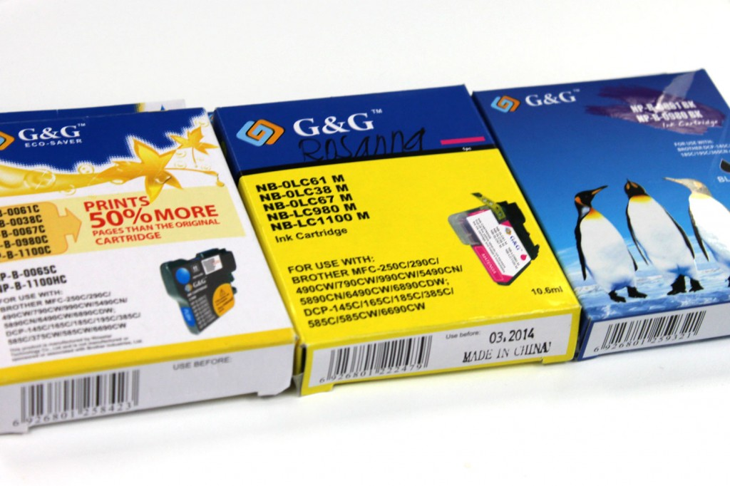 Most common problem for ink cartridges