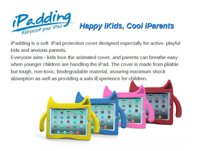 iPadding Kids Protective Case for iPad 2/3/4