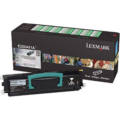 Lexmark E250A11A OEM Toner Cartridge
