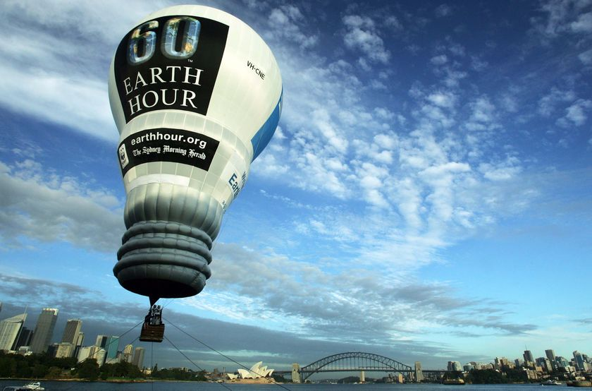 earth hour background 2013