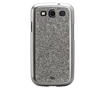 Glam Case for Samsung Galaxy S3 Silver