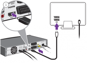 How to Connect 2 Hdmi Cables to TV with One Socket