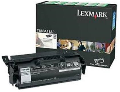 Lexmark T650A11A OEM Black Toner Cartridge 123InkCartridges