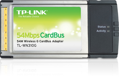 TP-LINK 54Mbps Wireless Cardbus Adapter