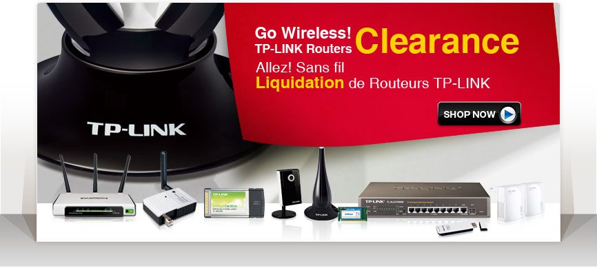 Up to 76% off!!! Spring Clearance for TP-Link Routers and Adaptors---Go Wireless! Unlock Your Life!