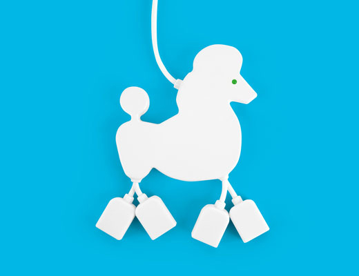 Kikkerland® USB Poodle Hub