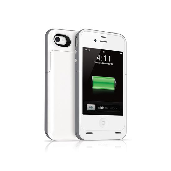Juice Pack 2000mAh Battery Case for iPhone 5, White