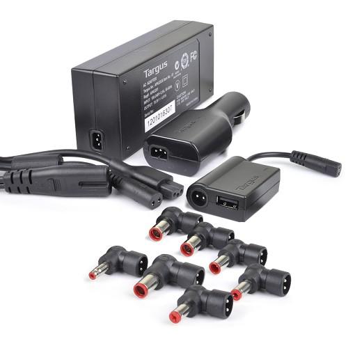 Targus 90 Universal Notebook/Mps AC adapter combo kit
