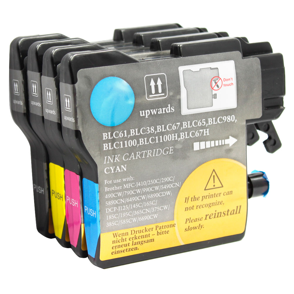 Brother LC61 compatible ink cartridges