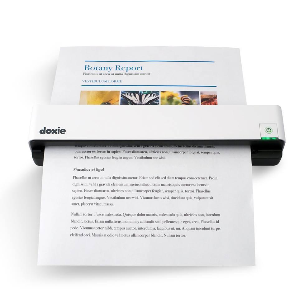 Doxie Go Rechargeable Paper Scanner will be the Next Secret Office ...