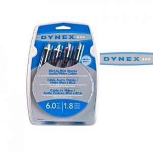 dynex av RCA cables