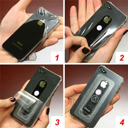iOttie-iphone5-waterproof-skin-instruction