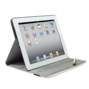 iPad 23  Leather Cover Stylus