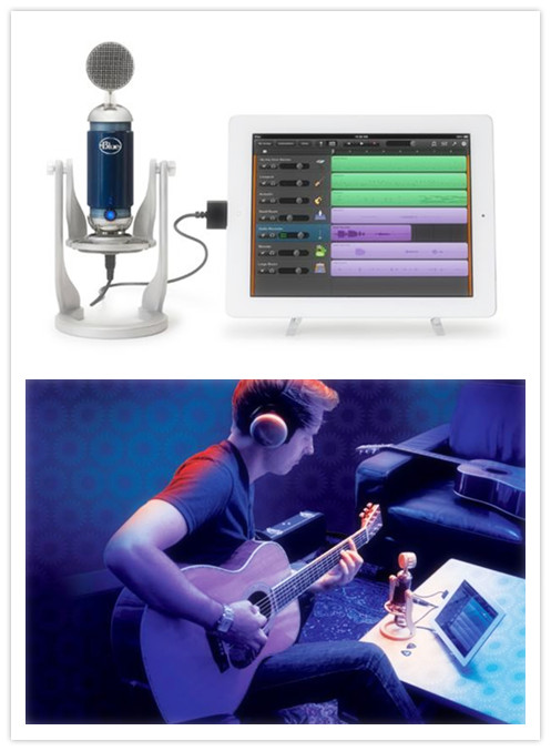 BlueMicrophones® Spark Digital USB and iPad Microphone
