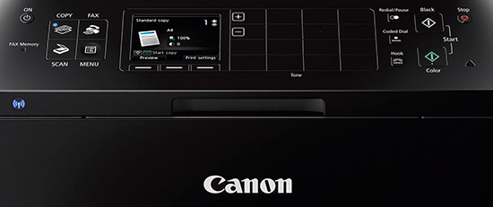 canon pixma mx922 wireless office all in one printer controls