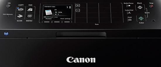 canon pixma mx922 wireless office all in one printer controls