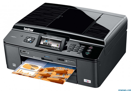 Brother MFC-J625dw Color Inkjet Multi-Function Center with +New Compatible LC75 Value Pack (Free Shipping)