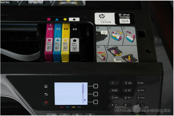hp officejet 4620 cartouches
