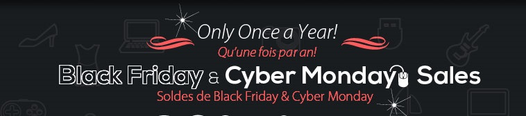 Black Friday and Cyber Monday Special at 123inkcartridges.ca