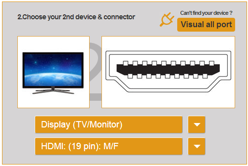 how to use cable finder feature