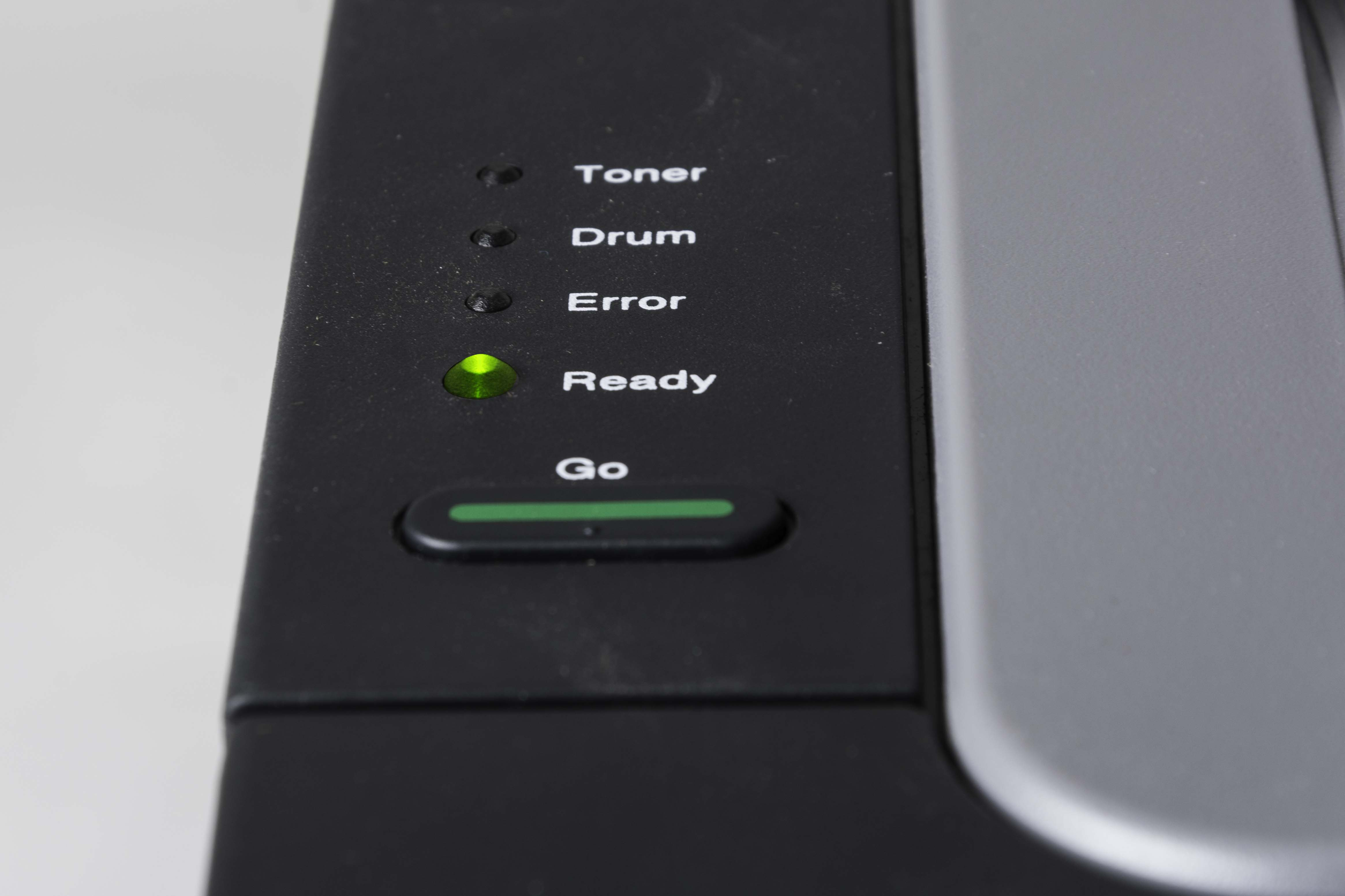 Brother HL-2240 printer control panel