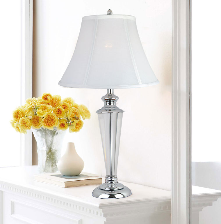 table lamp with crystal base the simpler the better canada. Black Bedroom Furniture Sets. Home Design Ideas
