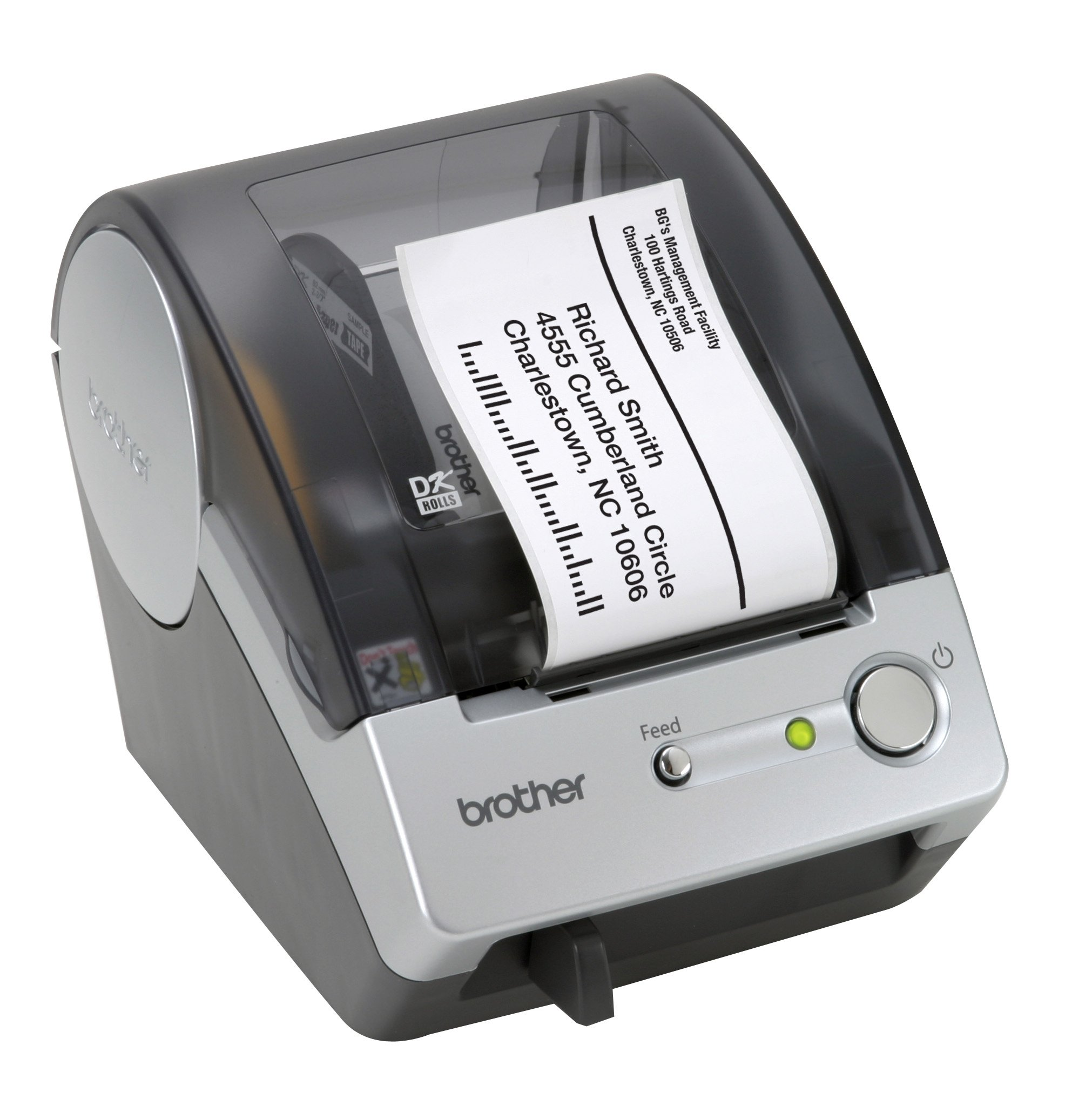 How to install brother p touch tape for Brother label printer templates