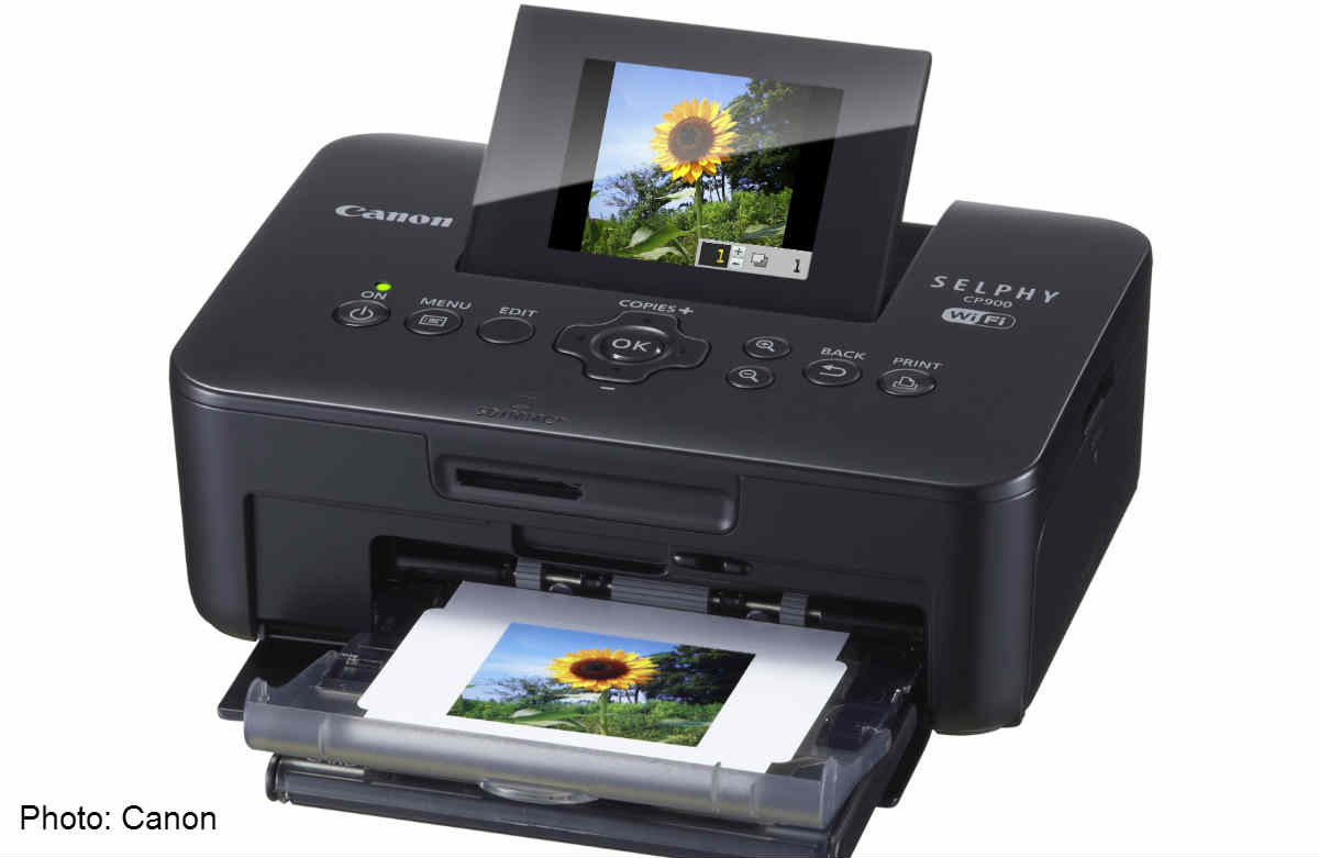 Canon Printing Series Compact Canon Selphy Cp910 Photo Printer