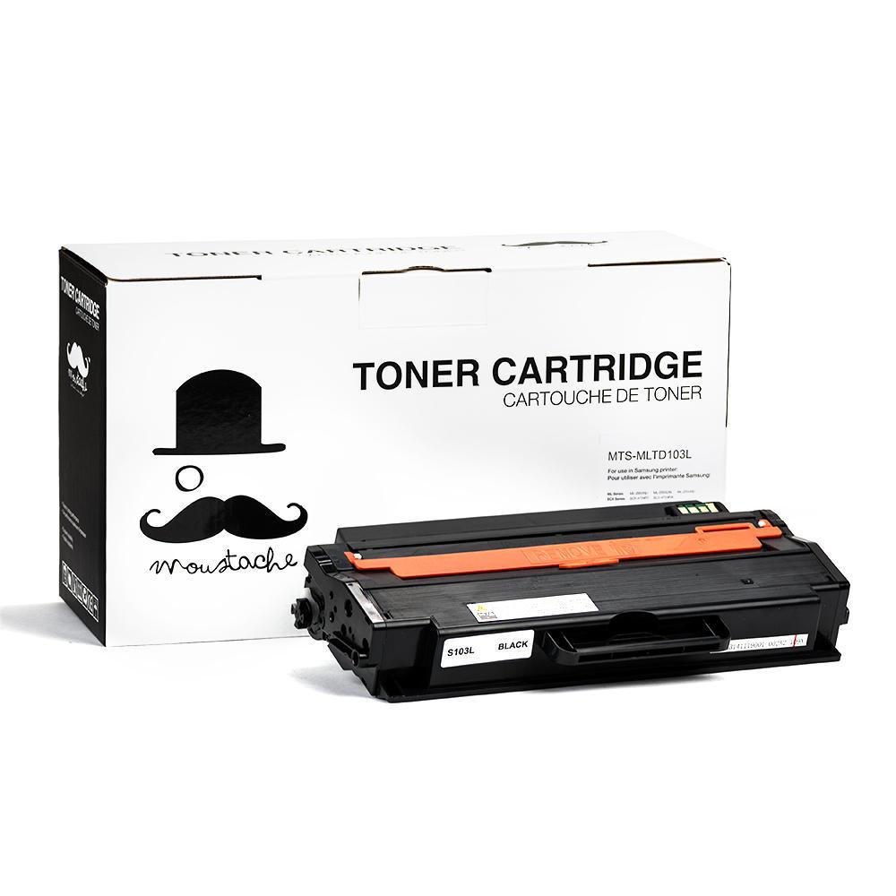 Samsung MLT-D103L Compatible Black Toner Cartridge High Yield - Moustache®